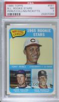 High # - Tony Perez, Kevin Collins, Dave Ricketts [PSA 7 NM]