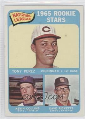 1965 Topps - [Base] #581 - Tony Perez, Kevin Collins, Dave Ricketts - Courtesy of COMC.com