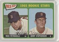 1965 Rookie Stars - Rico Petrocelli, Jerry Stephenson [NoneAltered]