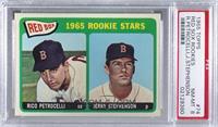 1965 Rookie Stars - Rico Petrocelli, Jerry Stephenson [PSA8NM‑…