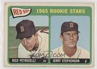 1965 Rookie Stars - Rico Petrocelli, Jerry Stephenson [NoneGoodto&n…