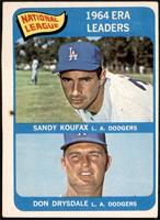 NL ERA Leaders (Sandy Koufax, Don Drysdale) [GOOD]
