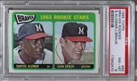 1965 Rookie Stars - Santos Alomar, John Braun [PSA8NM‑MT]