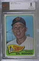 Gil Hodges [BVG 8 NM‑MT]