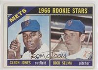 Cleon Jones, Dick Selma [GoodtoVG‑EX]