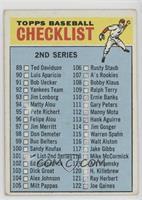 2nd Series Checklist (115: Warren Spahn) [PoortoFair]