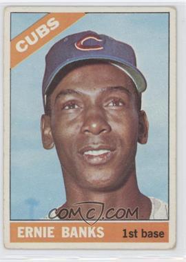 1966 Topps - [Base] #110 - Ernie Banks