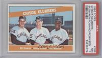 Chisox Clubbers (Bill Skowron, Johnny Romano, Floyd Robinson) [PSA7]