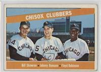 Chisox Clubbers (Bill Skowron, Johnny Romano, Floyd Robinson) [Poorto&nbs…