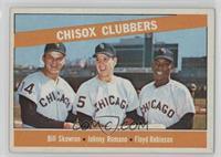 Chisox Clubbers (Bill Skowron, Johnny Romano, Floyd Robinson) [Goodto&nbs…