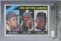 NL Batting Leaders (Bob Clemente, Hank Aaron, Willie Mays) [BRCR4.5]