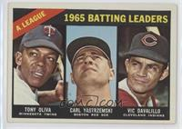 AL Batting Leaders (Tony Oliva, Carl Yastrzemski, Vic Davalillo)