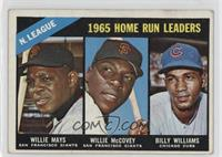 Willie McCovey, Willie Mays, Billy Williams [GoodtoVG‑EX]