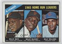 Willie McCovey, Willie Mays, Billy Williams [Good to VG‑EX]