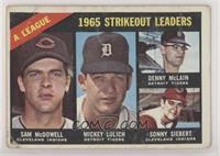 Sam McDowell, Mickey Lolich, Denny McLain, Sonny Siebert [PoortoFai…