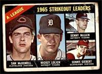 Sam McDowell, Mickey Lolich, Denny McLain, Sonny Siebert [FAIR]