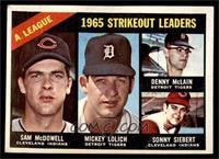 Sam McDowell, Mickey Lolich, Denny McLain, Sonny Siebert [GOOD]
