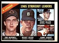Sam McDowell, Mickey Lolich, Denny McLain, Sonny Siebert [VGEX]