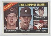 Sam McDowell, Mickey Lolich, Denny McLain, Sonny Siebert