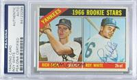 Yankees 1966 Rookie Stars (Rich Beck, Roy White) [PSA/DNACertifiedE…