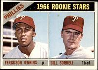 1966 Rookie Stars - Fergie Jenkins, Bill Sorrell [EX]