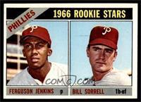 1966 Rookie Stars - Fergie Jenkins, Bill Sorrell [EXMT]