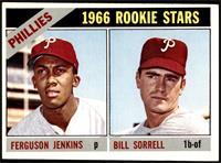 1966 Rookie Stars - Fergie Jenkins, Bill Sorrell [VGEX]