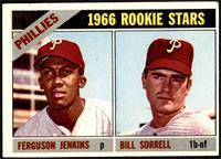 1966 Rookie Stars - Fergie Jenkins, Bill Sorrell [VG]