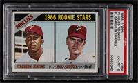 1966 Rookie Stars - Fergie Jenkins, Bill Sorrell [PSA6EX‑MT]