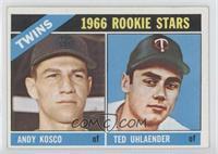 1966 Rookie Stars - Andy Kosco, Ted Uhlaender