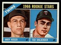 Twins Rookies (Andy Kosco, Ted Uhlaender) [NMMT]