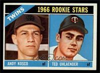 Twins Rookies (Andy Kosco, Ted Uhlaender) [NM]