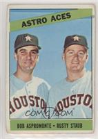 Astro Aces (Bob Aspromonte, Rusty Staub) [PoortoFair]