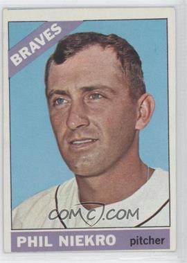 1966 Topps - [Base] #28 - Phil Niekro
