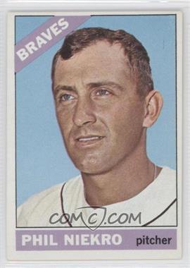 1966 Topps - [Base] #28 - Phil Niekro