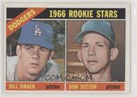 1966 Rookie Stars - Bill Singer, Don Sutton