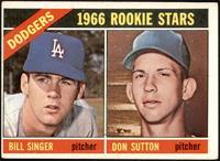 1966 Rookie Stars - Bill Singer, Don Sutton [VG]