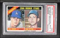 1966 Rookie Stars - Bill Singer, Don Sutton [PSA8NM‑MT]