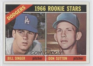 1966 Topps - [Base] #288 - Dodgers Rookies (Bill Singer, Don Sutton)