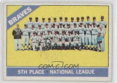 1966 Topps - [Base] #326 - Atlanta Braves Team [Good to VG‑EX]