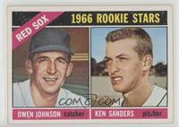 1966 Rookie Stars - Ken Sanders, Owen Johnson [NoneGoodtoVG&#…