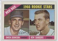 1966 Rookie Stars - Ken Sanders, Owen Johnson