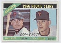 1966 Rookie Stars - Jack Hiatt, Dick Estelle