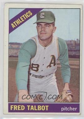 1966 Topps - [Base] #403 - Fred Talbot [GoodtoVG‑EX]