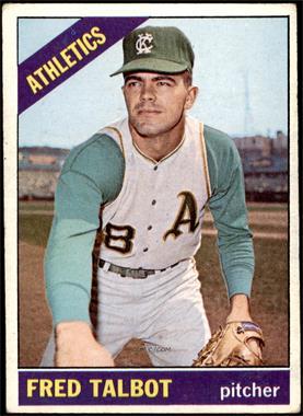 1966 Topps - [Base] #403 - Fred Talbot [VG]
