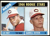 1966 Rookie Stars - Lee May, Darrell Osteen [VG EX]