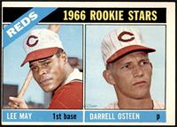 1966 Rookie Stars - Lee May, Darrell Osteen [VG]