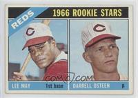 1966 Rookie Stars - Lee May, Darrell Osteen