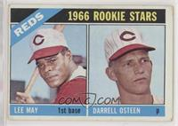 1966 Rookie Stars - Lee May, Darrell Osteen [Good to VG‑EX]