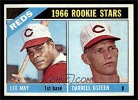 1966 Rookie Stars - Lee May, Darrell Osteen [NM]